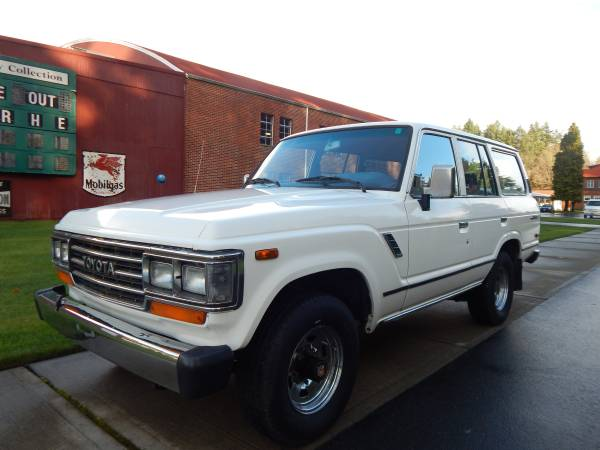 1989 Toyota Land Cruiser FJ62 For Sale