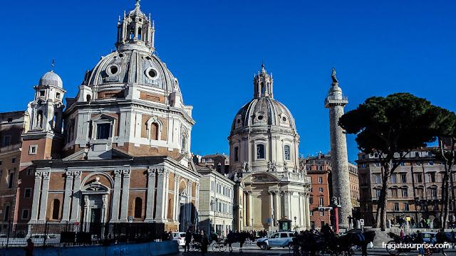 Igreja de Santa Maria de Loreto, no Fórum Romano, Roma