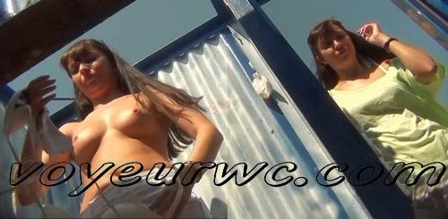 Beach Cabin 2323-2328 (Spy Cam - Best scenes of nude amateur body in beach change cabin)