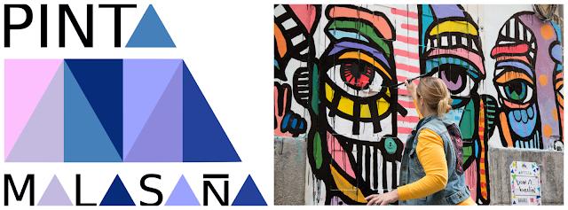 ARTE URBANO | Una nueva edición de ´Pinta Malasaña´ colorea el barrio más cool.