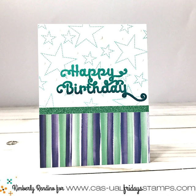 birthday card | cas-ual fridays stamps | papercraft | cardmaking | clear stamps | handmade | kimpletekreativity.blogspot.com