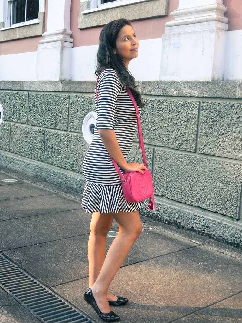 vestido peplum