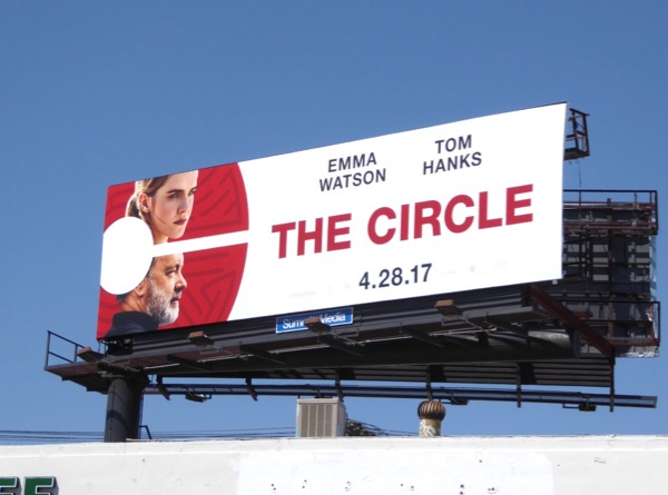 Circle movie billboard