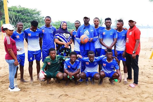 MURO SUPPLIERS MURI BEACH SOCCER NGO BARITEGUYE GUTWARA IBIKOMBE