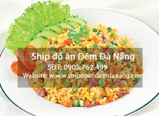 Cơm chiên dương châu - ship đồ ăn đêm đà nẵng
