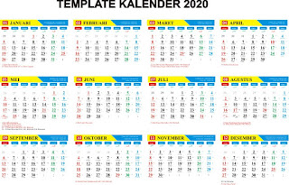 Download Kalender 2020 Indonesia Lengkap