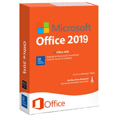 Microsoft Office 2019 Professional Plus 32/64 Bit Download Lifetime License