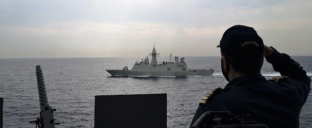 Ο Ελληνικός Στόλος… πνίγει τη «Γαλάζια Πατρίδα» (ΦΩΤΟ)