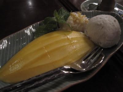 Bangkok, Baan Khanitha, mango sticky rice