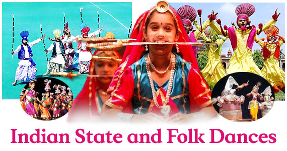 Indian State and its Folk Dances - StateWise Complete List