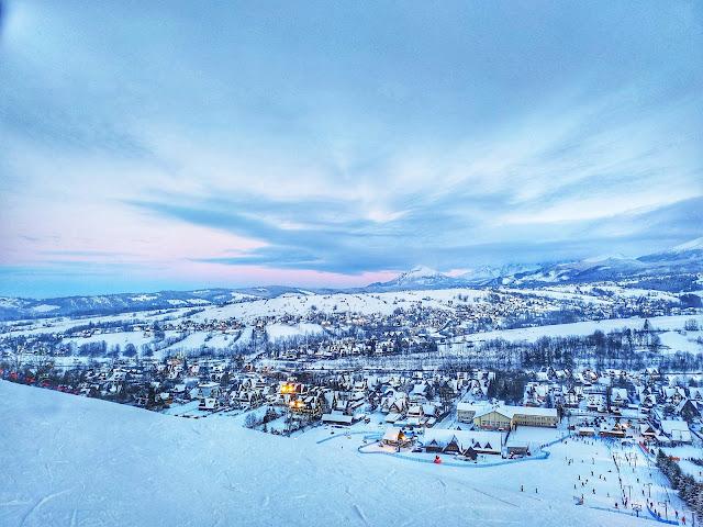 panorama Podhala, punkt widokowy Zakopane, Harenda