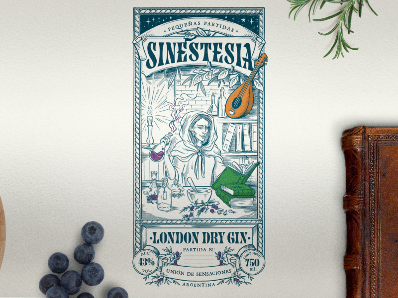SINESTESIA – London Dry Gin