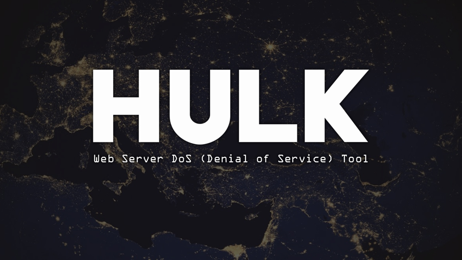 HULK - Web Server DoS (Denial of Service) Tool