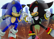 Sonic vs Shadow Jigsaw
