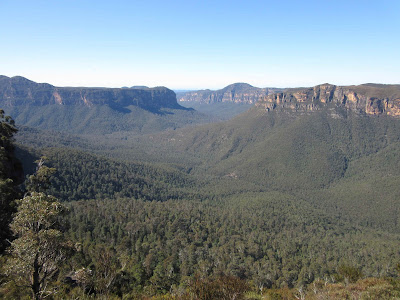 Valle Grose desde Pulpit Rock. Blue Mountains. Sydney