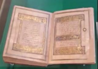 Fatiha .Kur'ân-ı Kerîm'in ilk sûresidir.