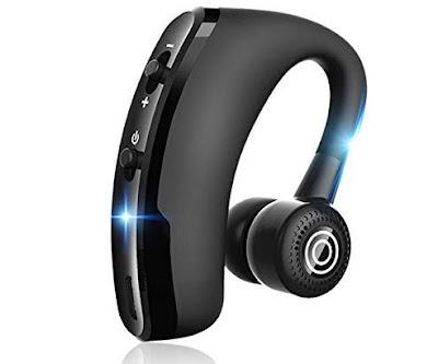 Larnn In-Ear Headset: Smart Bluetooth V4.2 Earphones with Mic