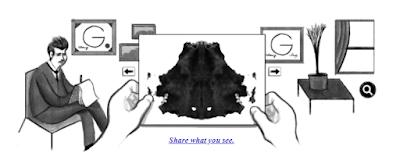 Hermann Rorschach'ın 129. Doğum Günü