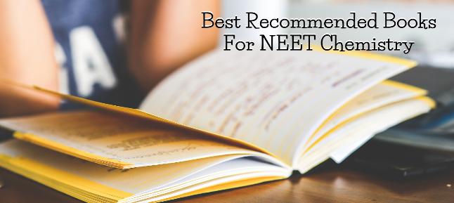 Best Recommended Books For NEET Chemistry