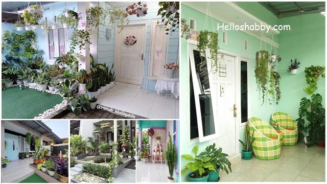 6 Teras Rumah Minimalis Dengan Tanaman Gantung Yang Indah Dipandang Helloshabby Com Interior And Exterior Solutions