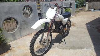 Modifikasi Honda Tiger Revo Menjadi Trail Jadul Vintage