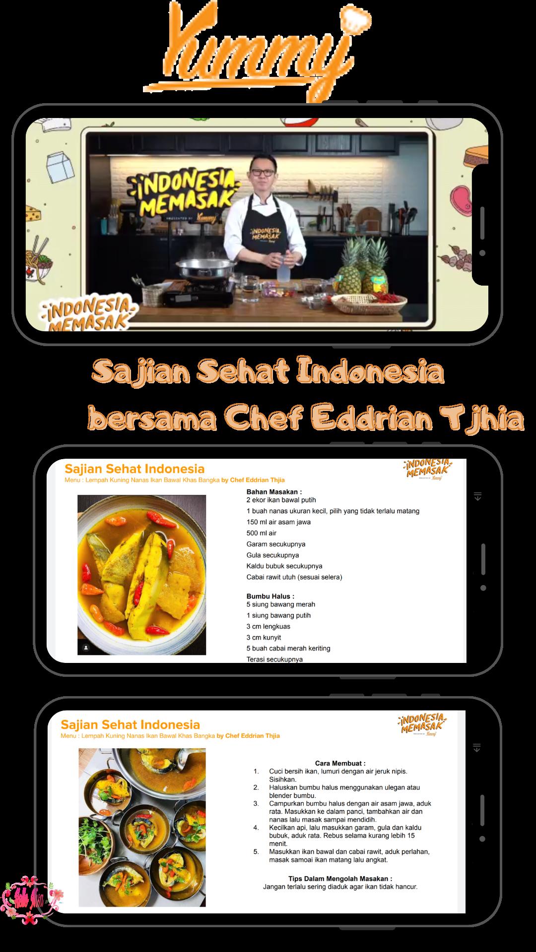 cooking class chef Eddrian Thjia