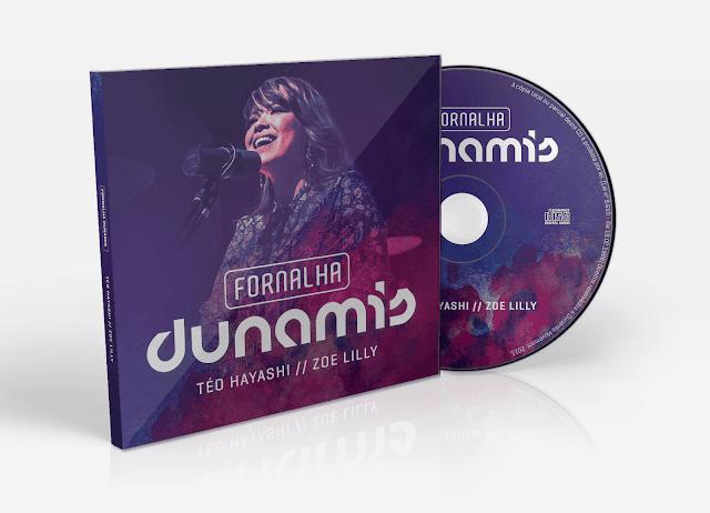 "Zoe Lilly lança álbum ""Fornalha Dunamis"""