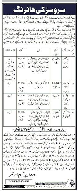 PO BOx NO 7308 Karachi Jobs