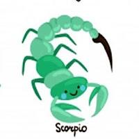 Zodiac Sign scorpio.
