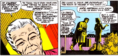 Amazing Spider-Man #54, john romita, aunt may agrees to take doc ock in as a lodger