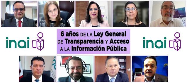 INAI y Ley General de Transparencia, mecanismos poderosos para el combate a la corrupción: Santiago Nieto