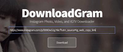 حفظ الصور من الانستقرام بدون برامج