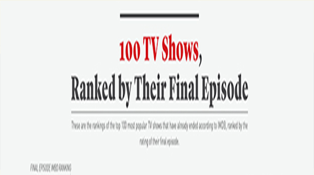 100 TV Shows, Ranked By Their Final Episode
