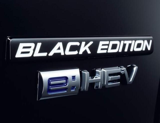 Emblem Logo Honda CRV Black Edition 2020