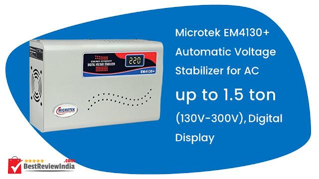 Microtek EM4130+ Automatic Voltage Stabilizer (130V-300V)