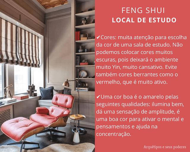 Estudos e o Feng Shui