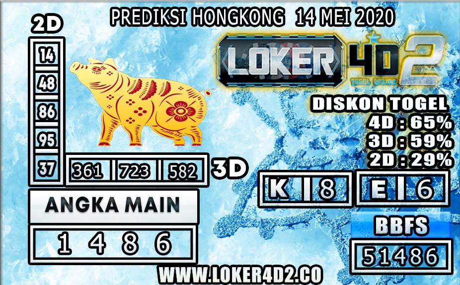 PREDIKSI TOGEL HONGKONG LOKER4D2 14 MEI 2020
