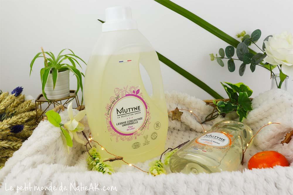 lessive liquide fleur de lotus Mutyne