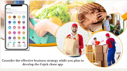 Consider The Effective Business Strategy While You Plan To Develop The Gojek Clone App