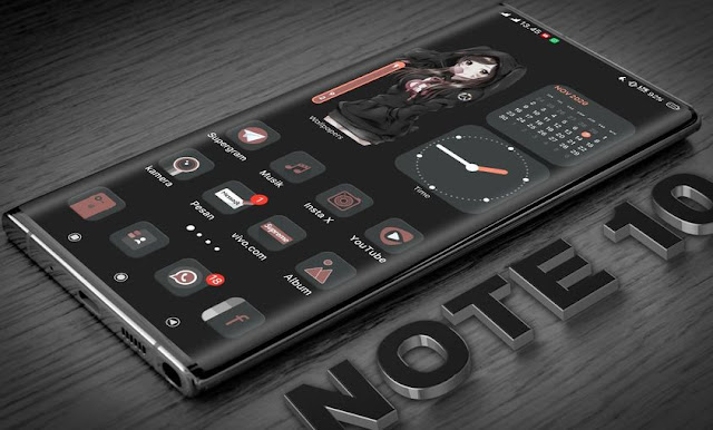 Best Dark Funtoch OS Tema Vivo iTZ Tembus Aplikasi Terbaru 2021