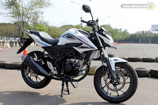 All New Honda CB150R Rapid White (Standar)
