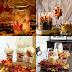 Jesenné dekorácie z lístia