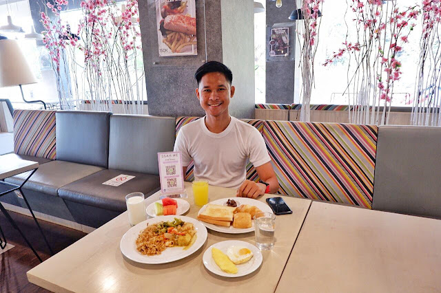 Breakfast di Ibis Styles Jakarta Sunter