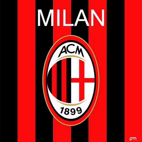 Redesigned AC Milan 2019-20 Logo Concept - Footy Headlines