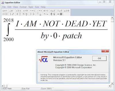 microsoft word formeleditor