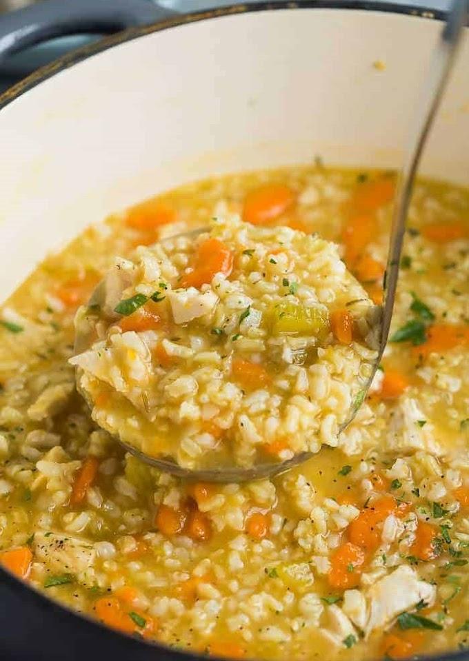 Chісkеn Rісе Soup