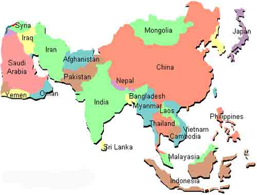 50 Negara Di Benua Asia Nama Ibu Kota Dan Mata Uang Juragan Les