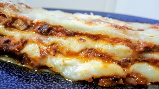 Lasagnes à la bolognaise maison