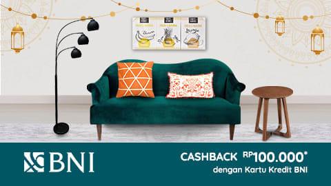#RupaRupa - #Promo Cashback 100K Pakai Kartu Kredit BNI (s.d 11 Juni 2019)