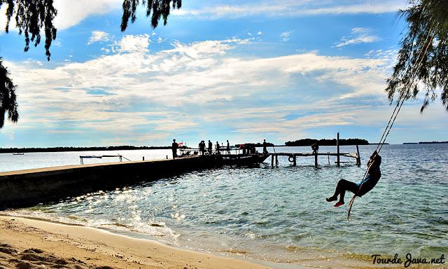 pulau perak - wisata pulau harapan